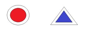 Marcaje montane - punct și triunghi